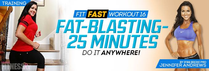 Fit Fast Workout 16