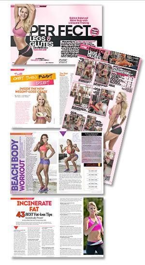 In This Issue: August FitnessRx - Get Your Perfect Body!