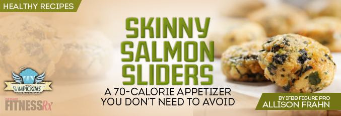 Skinny Salmon Sliders