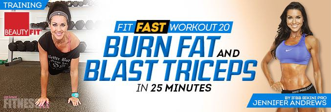 Fit Fast Triceps Workout