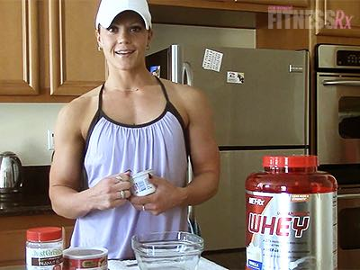 Protein Pudding - Satisfy your sweet tooth with this quick & easy snack