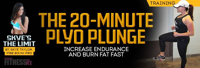 The 20-minute Plyo Plunge
