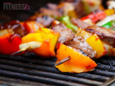 Surf n' Turf Kabobs - Grill Up a Healthy Summer Meal