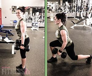 Effective Lunge Workout - Increase your leg-training intensity