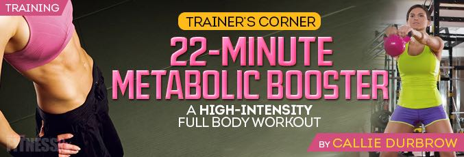 22-Minute Metabolic Booster