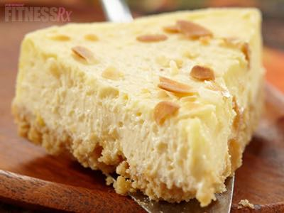 Almond Joyous Cheesecake - Perfect low-calorie dessert or snack