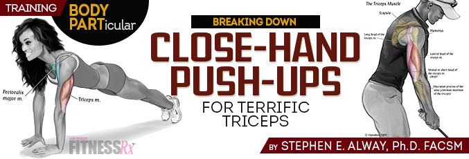 Close-Hand Push-Ups