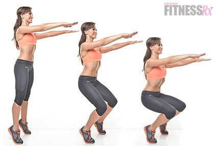 Karina Smirnoff: Relevé Parallel Squat - Train abs and glutes like a dancer!