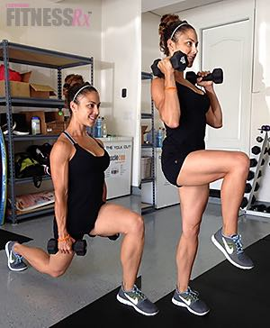 Save Time with Combination Exercises - Plus fat-burning workout