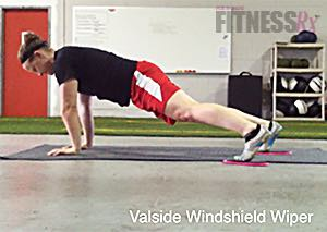 The Valslide Ab Shredding Circuit - Taking the plank to the next level!