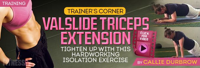 Valslide Triceps Extension