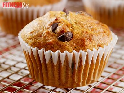 Banana Choco-Chip Muffins - 4 grams of fat and gluten free