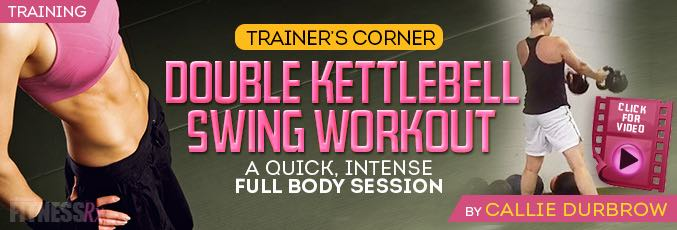 Double Kettlebell Swing Workout