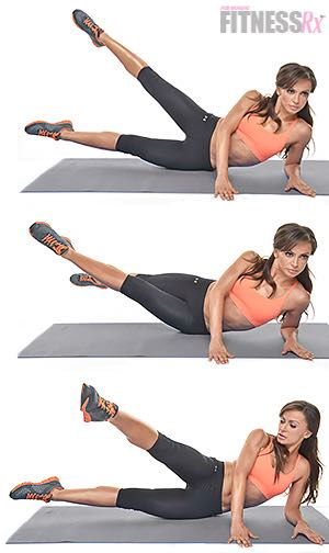 Karina Smirnoff: Side Scissor Kicks - Train abs and glutes like a dancer!