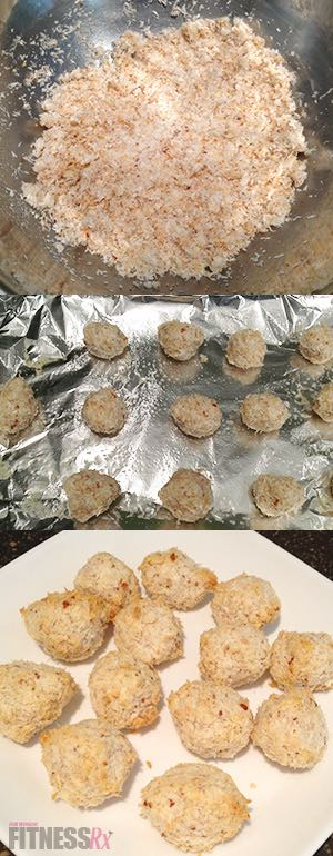 Two Low-Calorie, Easy Treats - Peanut Butter Squares and Macaroons