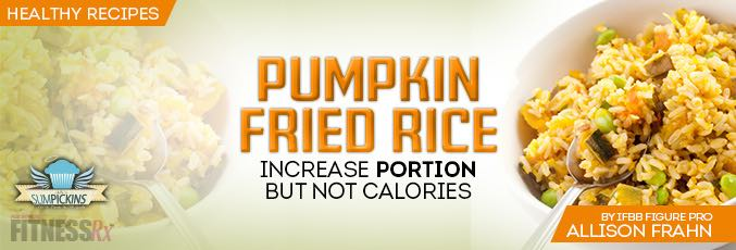 Pumpkin Fried Rice