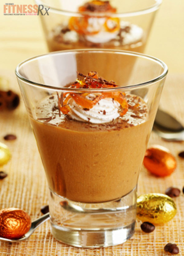 Hauntingly Light Mocha Caramel Pudding
