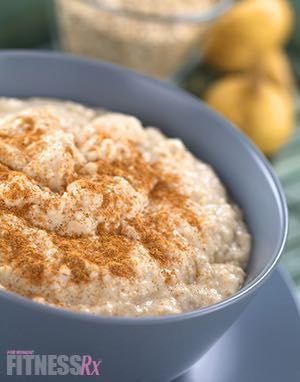 Chai-Spiced Oatmeal - Adding flavor to a diet staple