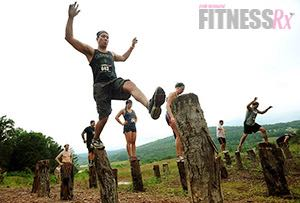 Balancing Act - Preparing for the Log Hop Obstacle