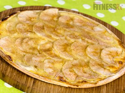 Apple Cinnamon Dessert Pizza  - Think outside the box!