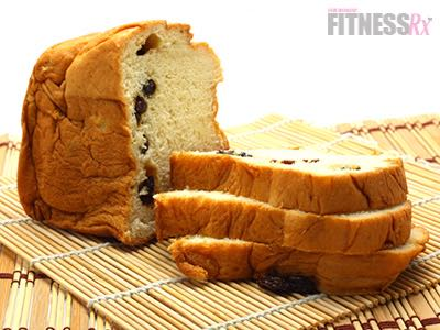 Gluten-Free Cinna-Raisin Protein Bread - Only 8 carbs per slice