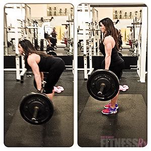Building Glutes and Hamstrings  - Two forms of stiff-leg deadlifts