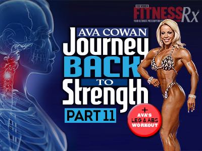 Journey Back To Strength 11 - Making A Big Move – includes Ava's Leg & Abs Workout