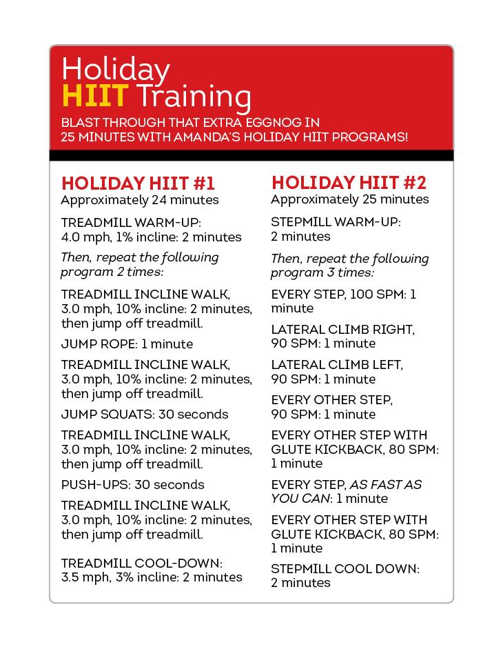 Timesaving Holiday Workouts | FitnessRX for Women - Part 3
