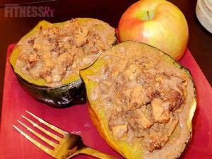 Acorn Squash Apple Pie - All the taste without the guilt
