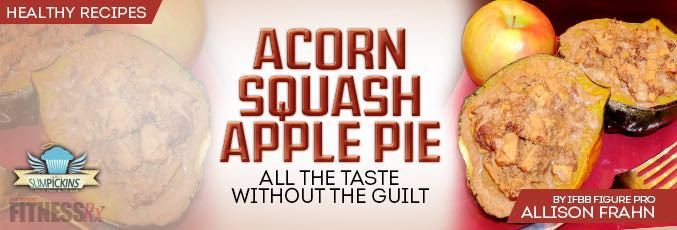 Acorn Squash Apple Pie
