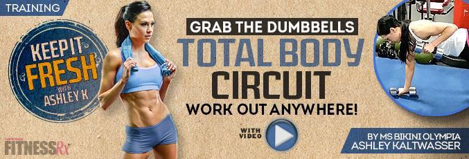 Grab the Dumbbells Total Body Circuit