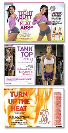 In This Issue: April - Get Bikini Ready for Summer!