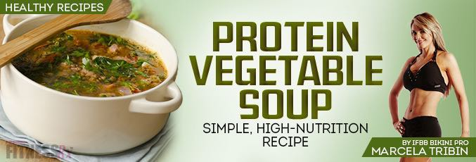 Protein Vegetable Soup