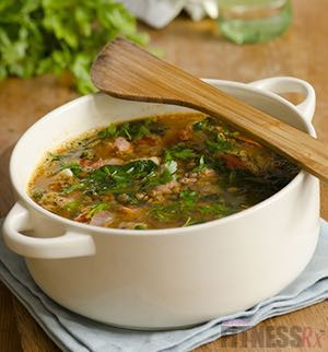 Protein Vegetable Soup - Simple, high-nutrition recipe