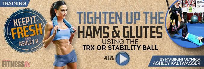 Tighten Up The Hams & Glutes