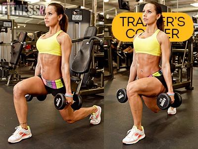 Change Of Pace! - Tighten Up With Tempo Lunges