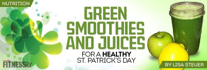 Green Smoothies and Juices