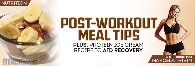Post-workout Meal Tips