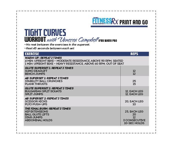 The Tight Curves Workout - A Butt-shaping, Ab-toning, Fat-blasting Plan
