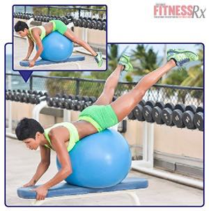 The Tight Curves Workout - A Butt-shaping, Ab-toning, Fat-blasting Plan - BALL GLUTE LIFT