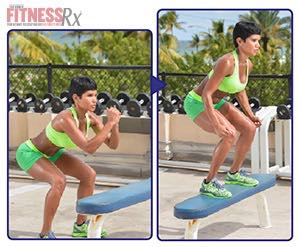 The Tight Curves Workout - A Butt-shaping, Ab-toning, Fat-blasting Plan - BENCH JUMPS