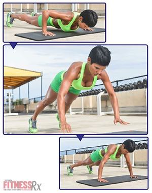 The Tight Curves Workout - A Butt-shaping, Ab-toning, Fat-blasting Plan - PLYO PUSH-UP