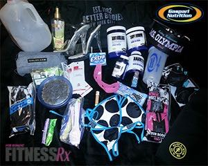 What's In The Gym Bag? - Always be prepared with these training must-haves!