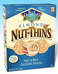 Healthy Chip Alternatives - Almond Nut Thins