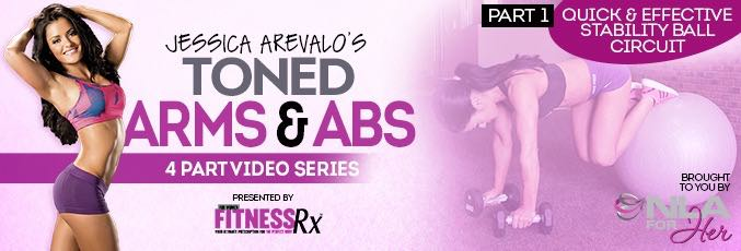 Toned Arms & Abs Video 1