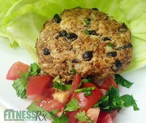 Black Bean Turkey Burgers - A healthier option for barbecuing