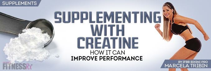 Supplementing with Creatine