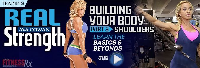 Building Your Body Part 3 – SHOULDERS