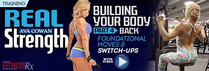 Building Your Body Part 4 – BACK