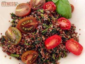 Basil Lime Quinoa Salad